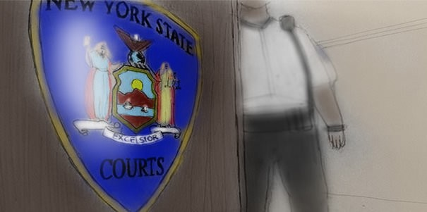 Arraignment in Manhattan Court
