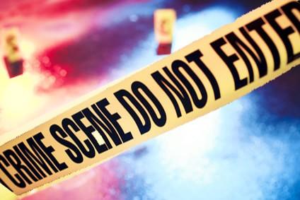 Murder Crime Scene in NY