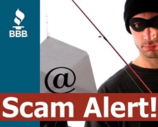 BBB warns businesses of phishing scam