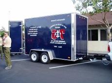 Boy Scout trailer stolen