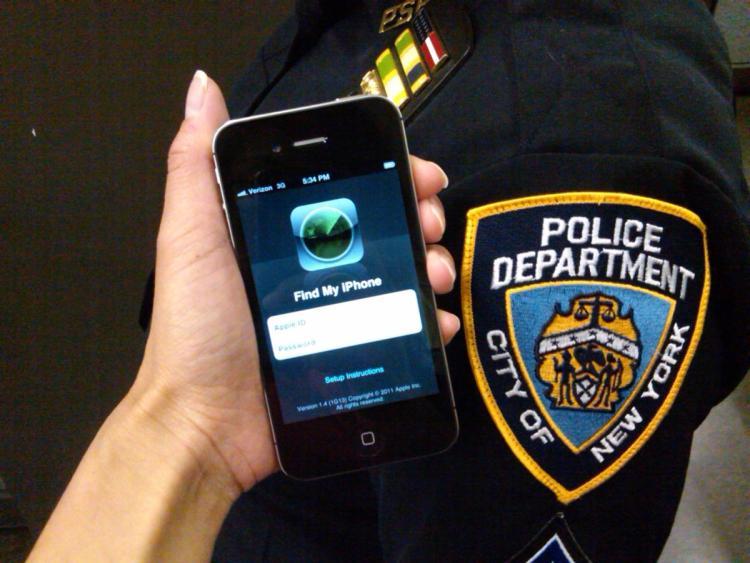 NYPD smartphone usage
