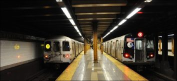 New York Crime Lessens Above Ground But The Subway Makes Up For It