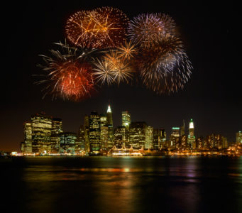 NYC fireworks laws
